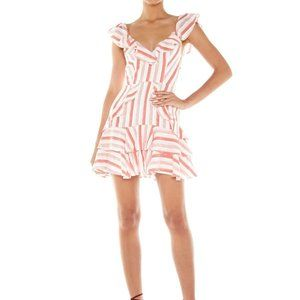 TALULAH Rosie Mini Dress in Candy Stripe NWT